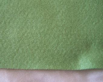 Felt coupon, type A4 format, green Moss (30)