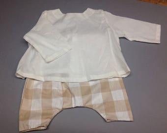 baby harem pants and blouse-timeless fashion set