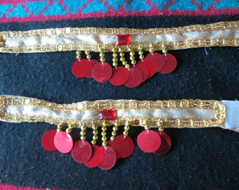 05 - Up arm bracelets and cuffs for belly dance