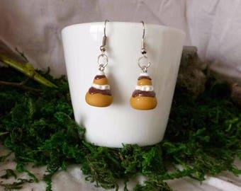 Religious earrings