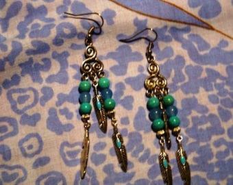 Earrings in the wind