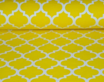 100% cotton fabric printed 50 x 160 cm, cotton fabric Morocco pattern by the yard