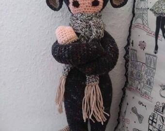 """Doll """"Eloan"""" small rat costume for children"""