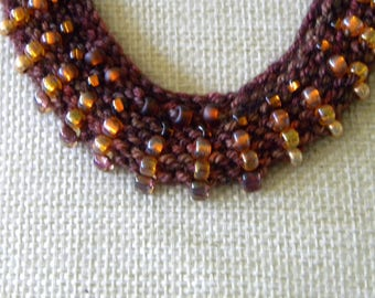 Fall Colors Ombre Necklace