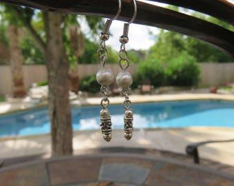 Silver Infused Earrings