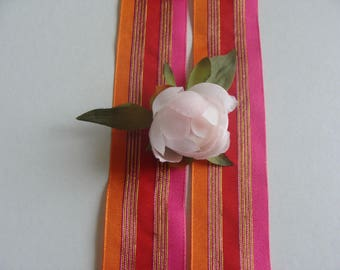 3.5 cm wide organza Ribbon