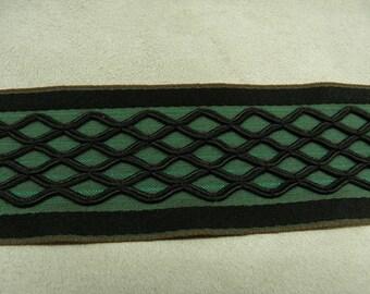 SURBRODEE fancy Ribbon - 4 cm - Green