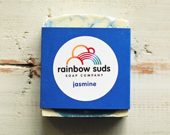 Blue Jasmine Soap Bar - 25% of proceeds to charity