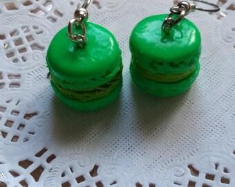 macaroon earrings