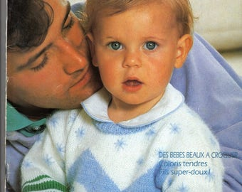 Phildar knitting catalog special 50 baby patterns