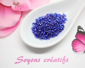 Miyuki Delica 11-0 Cobalt Blue beads 5 gr dark DB0047