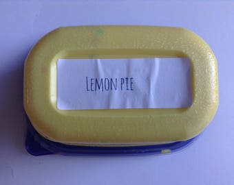 Lemon pie cream cheese slime