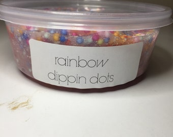 Rainbow dippin dots