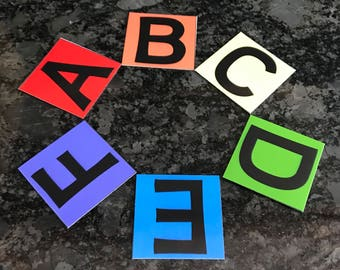 Alphabet and Numbers Magnet Set
