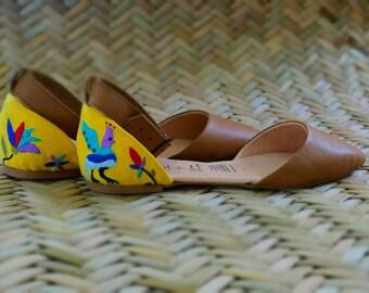 Tenango shoes yellow