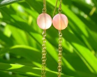 Pink Jade & Gold