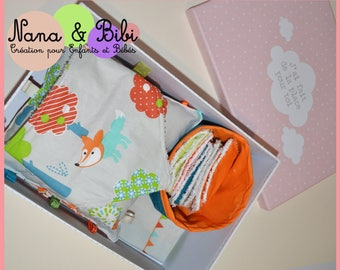 Gift baby girl or boy - baby boy gift - forest animals