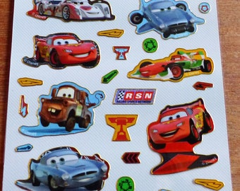 stickers reusable cars Board fun foiled stickers