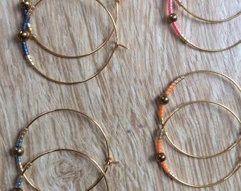 Grego hoop earrings