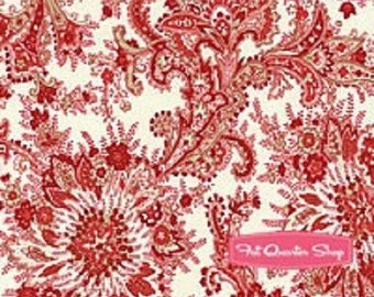patchwork red flowers 1481012 Moda fabric