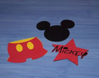 Mickey Cardstock Decorations