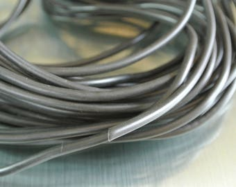 One meter of rubber cord black buna cord full 4 mm
