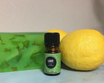 Lemon Lime Handmade Bar Soap