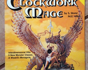 AD&D Adventure Module, The Clockwork Mage, Mayfair Games Inc.