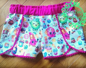 Custom shorts: birthday, team, holiday, school