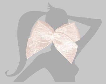5 mini - different colors - bow sewn satin ribbon bow