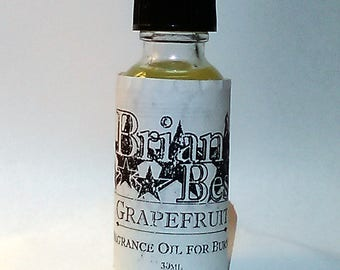 Grapefruit Scented Incense or Fragrance Oil Formulated for Burners or Warmers - Premium Grade & Quality!