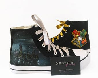 Harry Potter High Tops - Hogwarts Deluxe