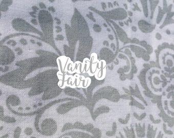 Vanity Fair dog bandana