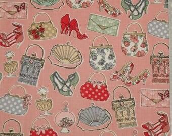 "Fabric patchwork - Makower - 04 ""temptations"""