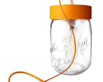 Table lamp 'perfect' orange, 1 liter
