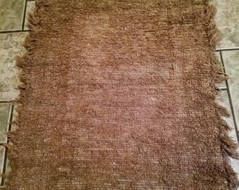Brown Rag Rug