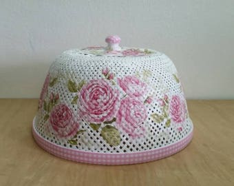 Food Cover lid with beautifully colorful designed 100% handmade