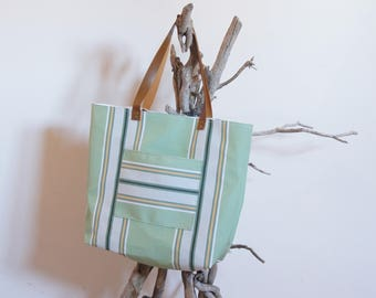 "Recycled ""Lounger"" textile collection tote bag"