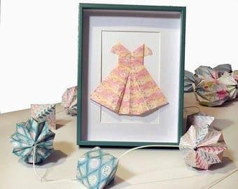 Frame dress origami - 16 x 20, 5 cm