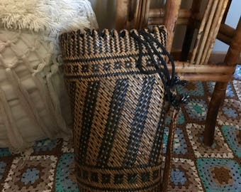Borneo Woven Basket/Backpack