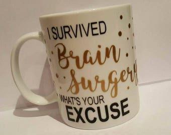 Brain surgery survivor