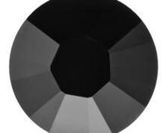 Swarovski Crystal 2058 Jet SS 9 (No Hotfix)