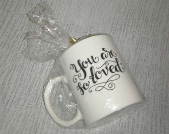 You are so loved (Personalised Mug)
