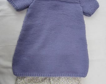 Dress and bloomer for baby
