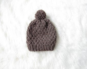Super Slouchy Knit Hat / The Moss Knit Hat