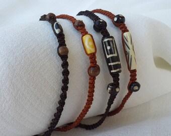 Leather Wristband Handmade Bracelet