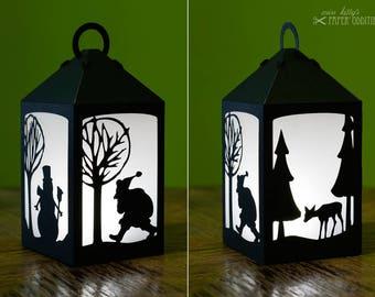 «DIY set Lantern» winter magic»