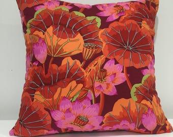 Floral Pillow cover, home decor pillow cover, custom pillow cover, accent pillow cover, housewarming gift, decorative pillow, throw pillows