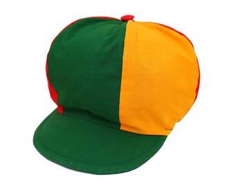 Tricolor Rasta colors cotton cap