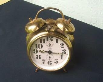 Linden Black Forest Alarm Clock Made in Germany.